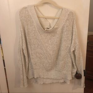 Free people casual summer sweater